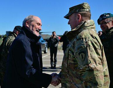 """Amerykański generał chwali MON i polską armię. """"Wasi żołnierze są..."""