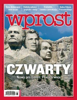 Okładka tygodnika Wprost nr 26/2010 (1429)