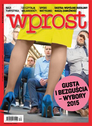 Okładka tygodnika Wprost nr 30/2015 (1689)
