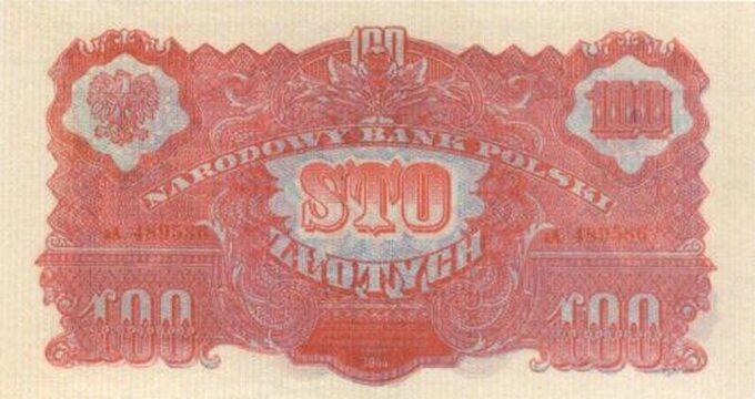 Bankont zserii lubelskiej -100 złotych