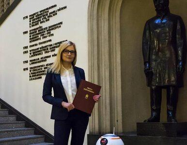 """Studentka z Krakowa zbudowała robota z """"Gwiezdnych wojen"""". Poznajcie..."""
