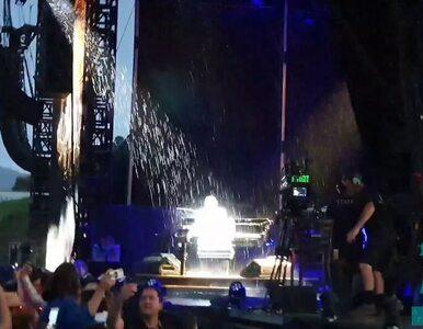 Elton John przerwał koncert przez burzę i gradobicie. Zobaczcie wideo