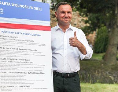 """Andrzej Duda podpisał Kartę Wolności w Sieci. """"Nie dla cenzury"""""""