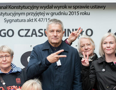 Demonstracja we Wrocławiu. Frasyniuk: Jeb*** pisiora i się nie bać