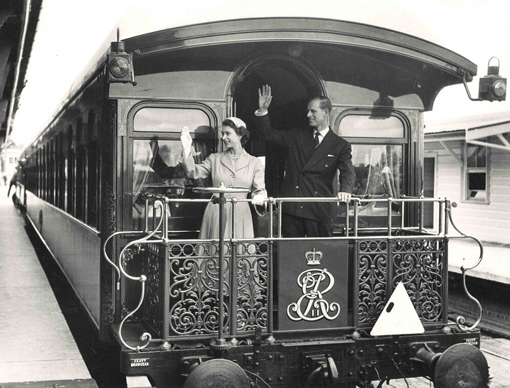 Książę Filip w 1954 roku