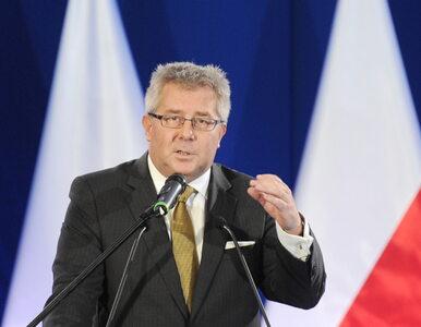 Czarnecki o pracy syna w PGZ: On nie potrzebuje wsparcia