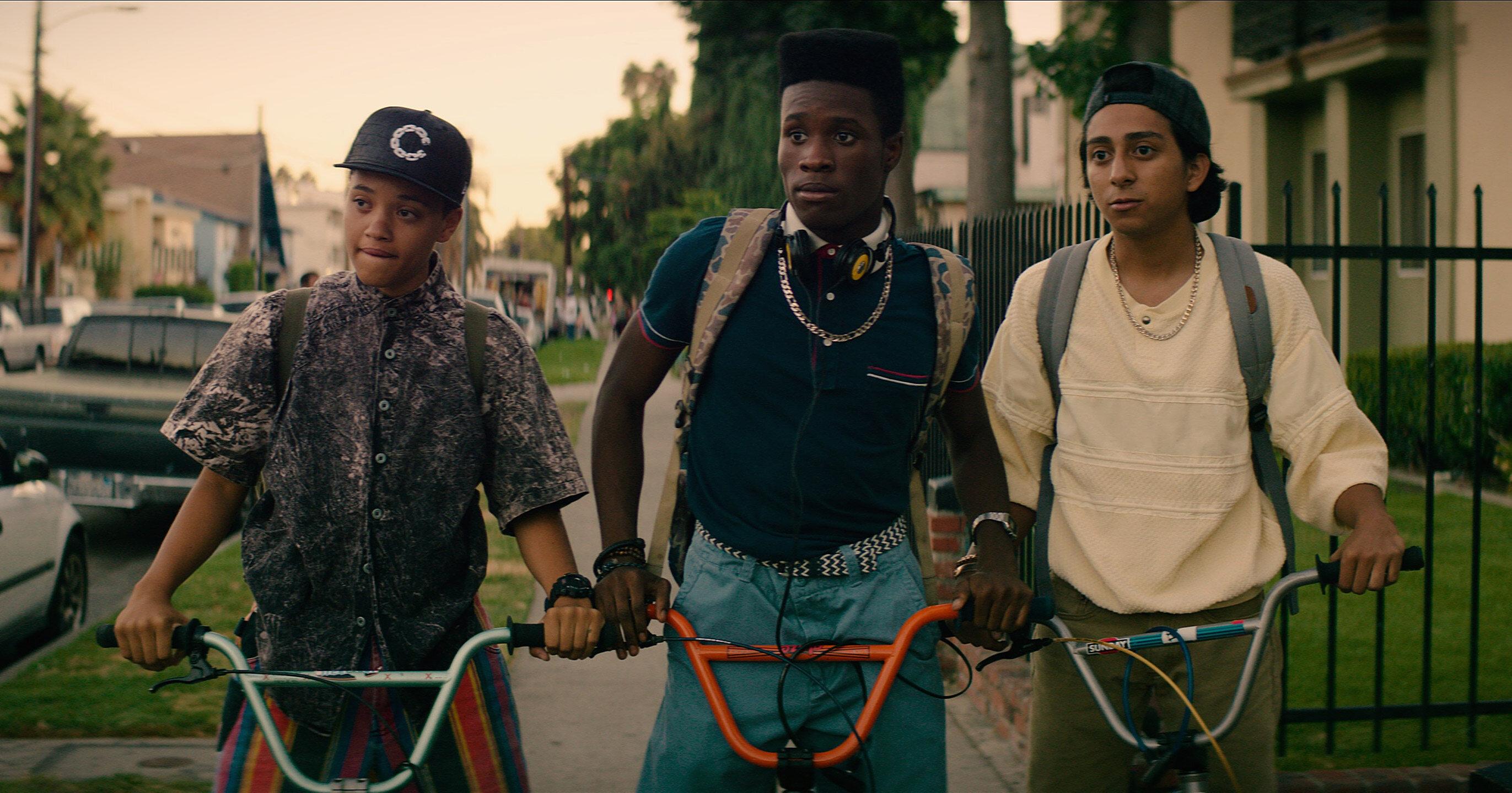 "Kadr z filmu ""Git"" / ""Dope"" (2015)"
