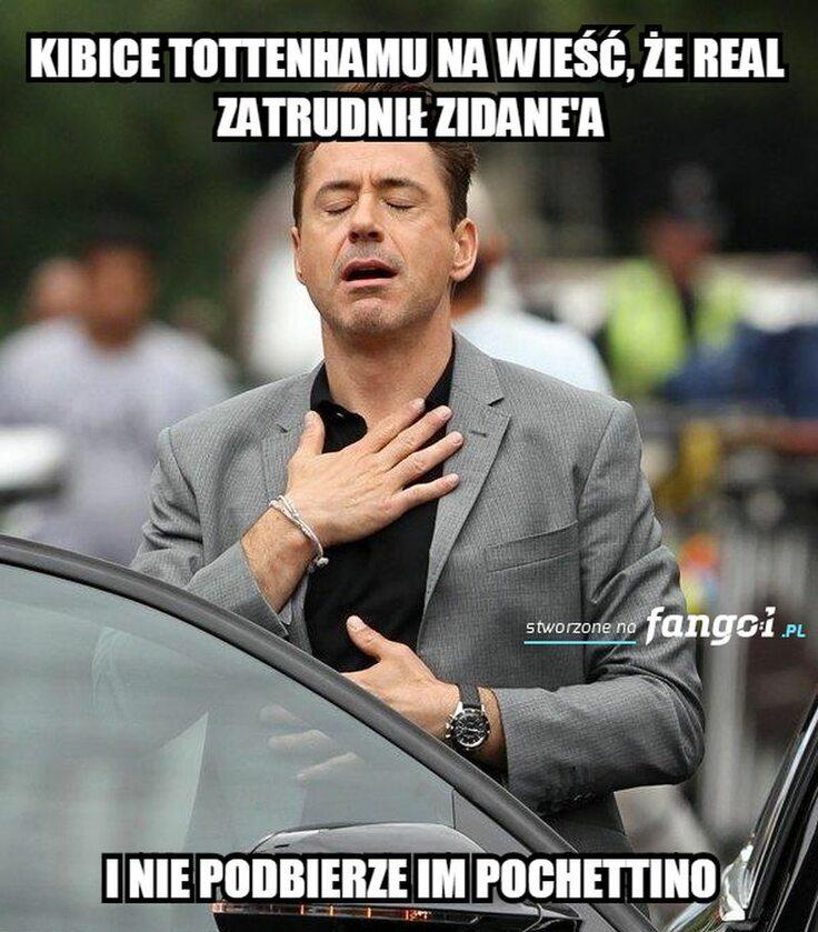 Mem zainspirowany powrotem Zidane'a do Realu
