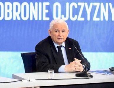 Dziennikarz walczył o zadanie pytania, Kaczyński jednak odpowiedział....