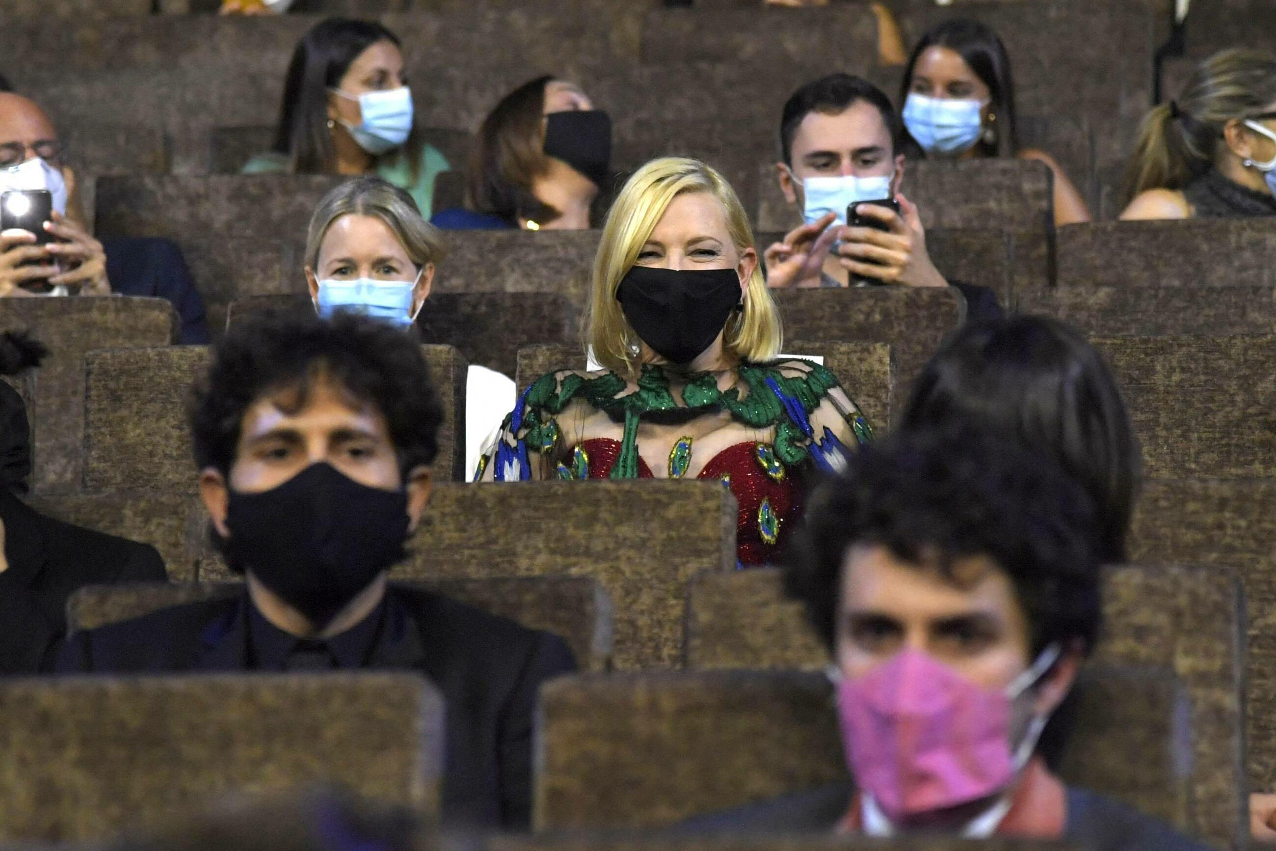 Cate Blanchett w czasie ceremonii zamknięcia festiwalu w Wenecji