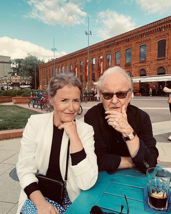 Olga Frycz i Jacek Borcuch