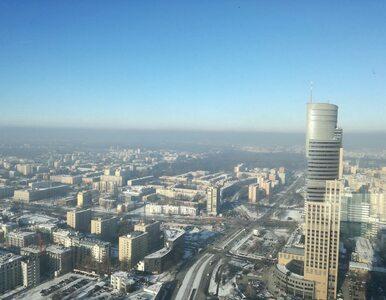 """Smog w Warszawie. Jakość powietrza """"niezdrowa"""""""