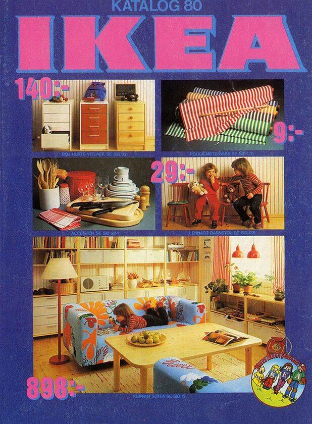 Okładka katalogu IKEA z 1980 roku