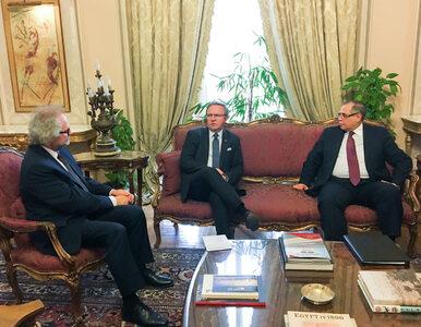 Minister Szczerski z wizytą w Egipcie. Promował kandydaturę Polski do...