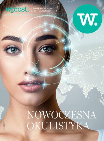 Okładka Dodatek Wprost – Nowoczesna okulistyka  (marzec 2021 r.)