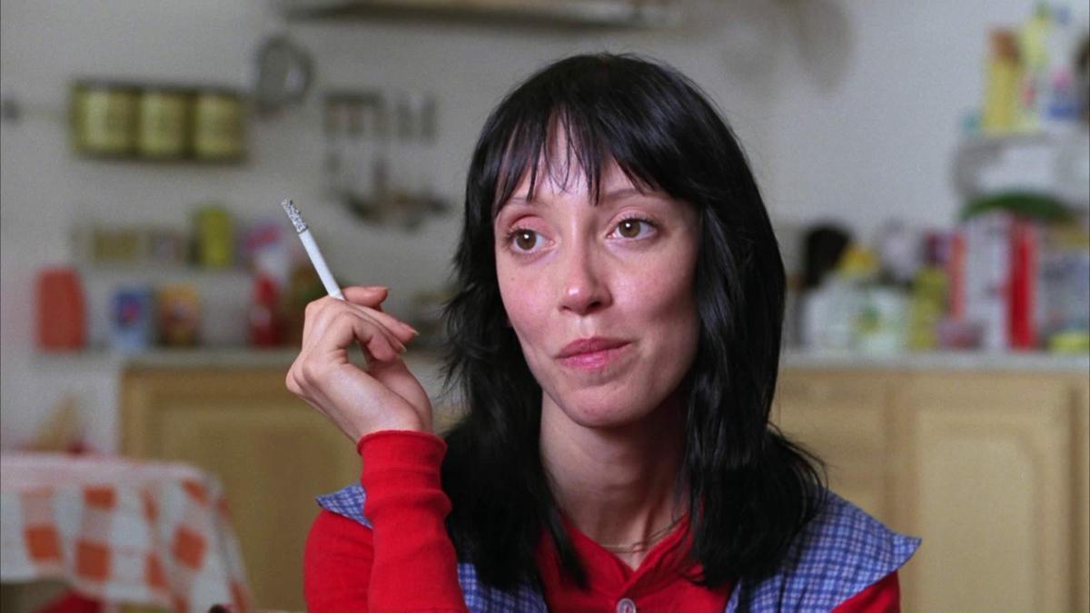 "Shelley Duvall w filmie ""Lśnienie"" (1980)"