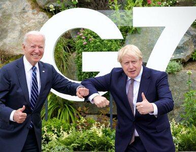 """Joe Biden i Boris Johnson podpisali nową Kartę Atlantycką. """"Kluczowe..."""