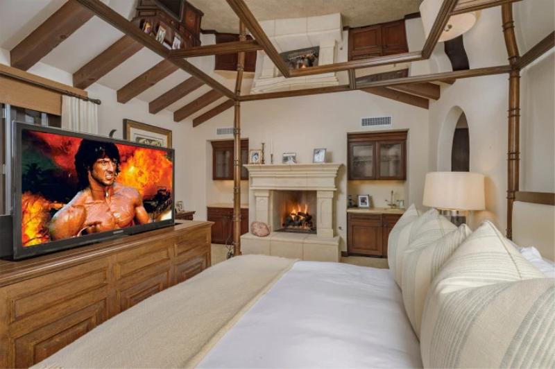 Dom Sylvestra Stallone'a w La Quinta w Kalifornii