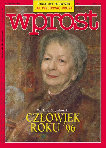 Okładka tygodnika Wprost nr 2/1997 (736)