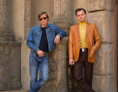 """Pitt, DiCaprio i Tarantino o filmie """"Pewnego razu... w Hollywood""""...."""