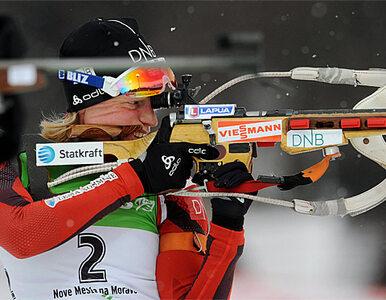 Biathlon: Niemka strzelała do cudzej tarczy, wygrała Norweżka