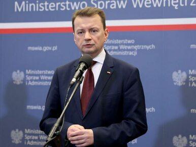 Błaszczak o zajściach w Radomiu: Zajmuje się tym prokuratura