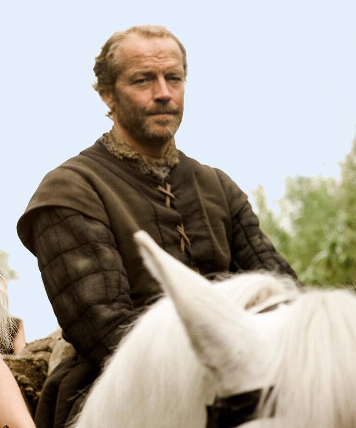 """Jorah Mormont w 1. sezonie """"Gry o tron"""" W postać wciela się aktor Iain Glen."""