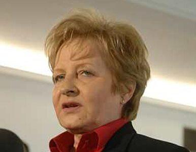 Gilowska zrezygnowała z mandatu poselskiego