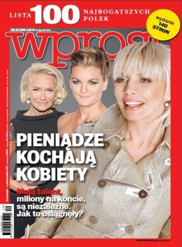 Okładka tygodnika Wprost nr 40/2013 (1597)