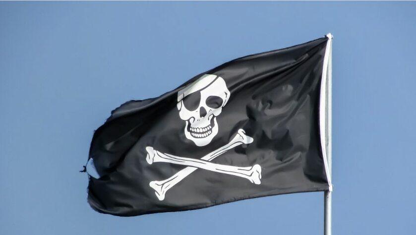 Bandera piratów (zdj. ilustracyjne)