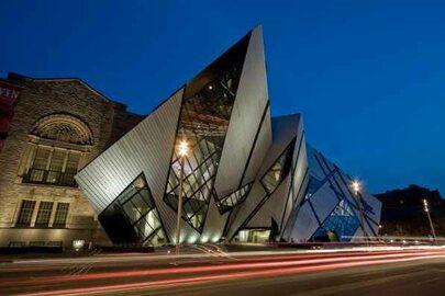 Niezwykłe budynki sztuki nowoczesnej