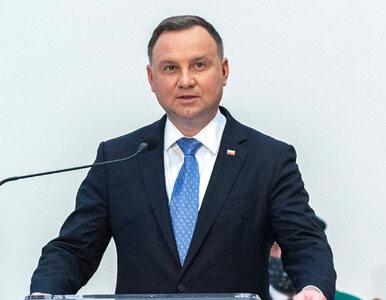 """Andrzej Duda zabrał głos ws. zamieszek w Kongresie. """"To wewnętrzna..."""
