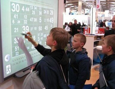 Multimedialne tablice dla szkół za 29 mln zł