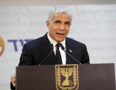 Izraelski dziennik krytycznie o Lapidzie: Wywołał kryzys w relacjach z...