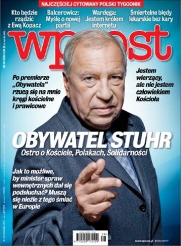 Okładka tygodnika Wprost nr 38/2014 (1646)