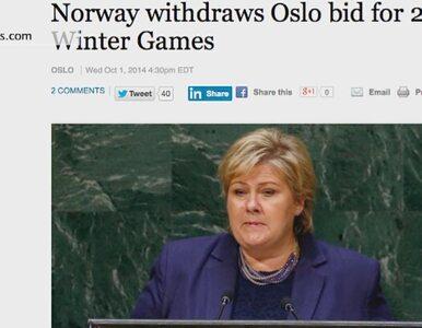 """Oslo nie chce igrzysk, legenda krytykuje. """"Zwymiotuje na widok premier"""""""