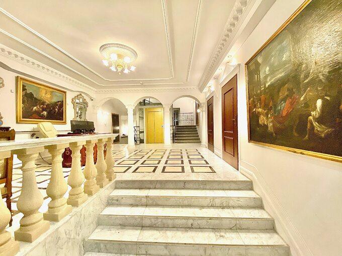 Palazzo Murano – wnętrze