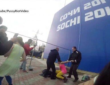 Odpowiedź Pussy Riot na pobicie w Soczi. Opublikowały nowy teledysk