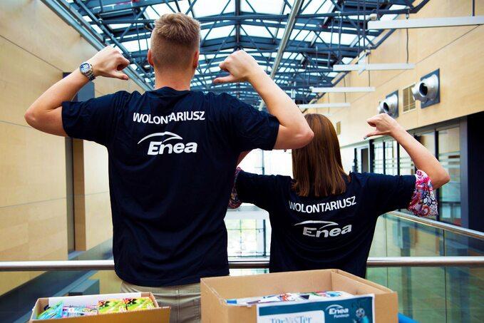 Wolontariat pracowniczy Grupy Enea rośnie wsiłę