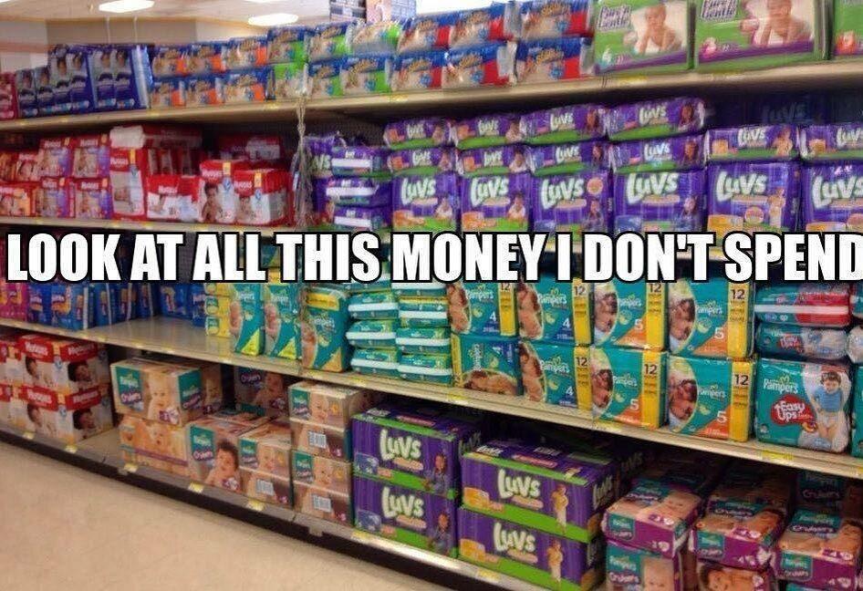 """""""Spójrzcie na te wszystkie pieniądze, których nie wydaję"""""""