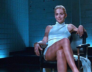 """61-letnia Sharon Stone odtworzyła scenę z filmu """"Nagi Instynkt""""...."""