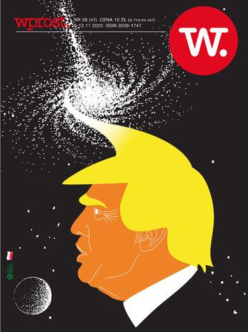 Okładka tygodnika Wprost nr 41/2020 (1957)