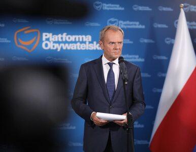 """Awantura na konferencji Tuska z udziałem dziennikarza TVP. """"Nie udzielam..."""