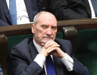 """Antoni Macierewicz założy nową partię? """"To próba destrukcji formułowana..."""