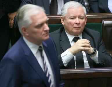 """Jarosław Kaczyński ostro o rozłamowcach z koalicji. """"To udawanie, że się..."""