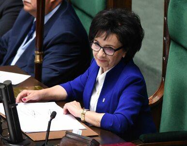 """Sejm wybrał marszałka. """"Elu, wiem, że dasz radę utrzymać nas w ryzach"""""""