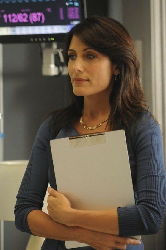 Lisa Edelstein jako dr Lisa Cuddy