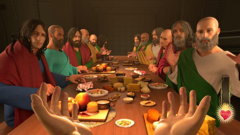 """Screen z gry """"I am Jesus Christ"""""""