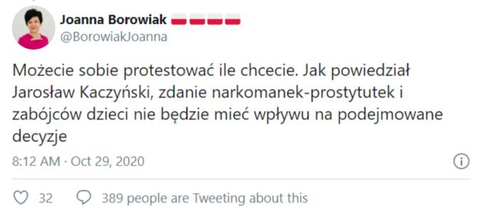 Komentarz zkonta Joanny Borowiak