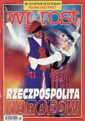 Okładka tygodnika Wprost nr 45/2000 (936)